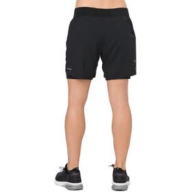 asics 2-N-1 5.5In Shorts Women Performance Black